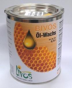 BIVOS Ölwachs Nr. 375, Inhalt:2.5 l