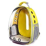 XYSTSM Hundetrager-Rucksack, 31 x 25 x 42 cm, tragbar, transparente Kapseln, für Haustiere, Katzen,...