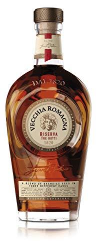 Vecchia Romagna Tre Botti - der italienische Brandy schlechthin Flasche mit 70 cl, 40,8% Vol.