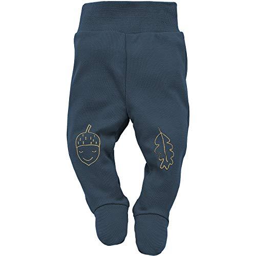 Pinokio - Secret Forest - Pantalon Bébé Enfants Garçons Barboteuse Pantalon Nouveau-né 100% Coton de Sommeil Jaune Bleu Marine 56 62 68 74 cm (68 cm, Bleu Marine)