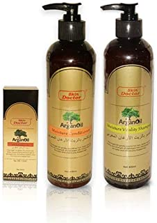 Argan Oil and Moisture Conditioner plus Moisture Shampoo Pack