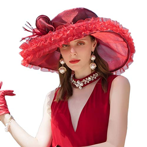 Tocados de organza para mujer, tocados con plumas, tocados para la cabeza, estilo clásico femenino