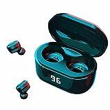 YUTRD ZCJUX Auriculares inalámbricos Bluetooth Deporte Earbudos Auriculares Impermeables para audífonos de música