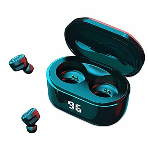SMEJS Auriculares inalámbricos Bluetooth Deporte Earbudos Auriculares Impermeables para audífonos de música