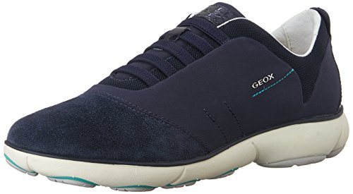 Geox D NEBULA C, Damen Sneakers, Blau (NAVYC4002), 40 EU
