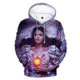 De UNA Vez Sweat à capuche unisexe 3D à manches longues pour femme et homme Survêtement Selena Gomez Hip Hop Streetwear - - X-Large