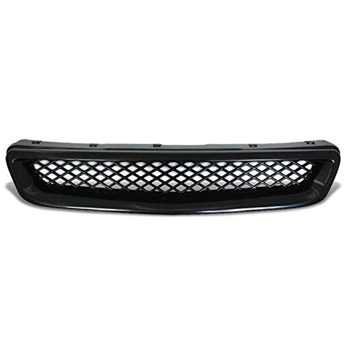 DNA Motoring GRL-HC96-TR-ABS Front Bumper Grille Guard [For 96-98 Honda Civic]