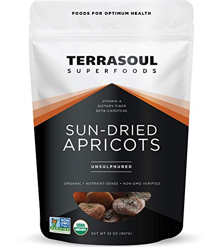 Sun-Dried Apricots Unsulphured