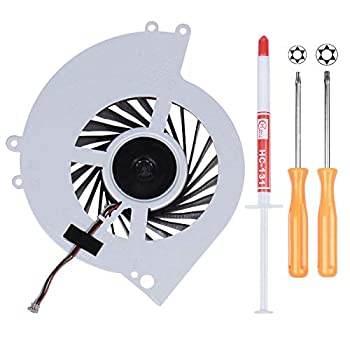 Li-SUN CPU Cooling Fan KSB0912HE-CK2M Internal Cooler Replacement for Sony Playstation 4 PS4 CUH-10XXA  CUH-1000A CUH-1001A  and CUH-11XXA  CUH-1100A CUH-1115A  Console Series with Tool Kit