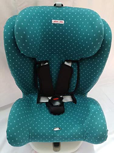 MOON-BEBE FUNDA PARA Star Ibaby BLANCO Silla de coche grupo 0+//1//2//3 Baby Auto Fix Noe