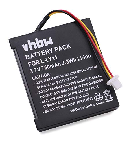 vhbw Li-ION Batterie 750mAh (3.7V) pour Souris sans Fil (Mouse Wireless) Logitech MX Revolution
