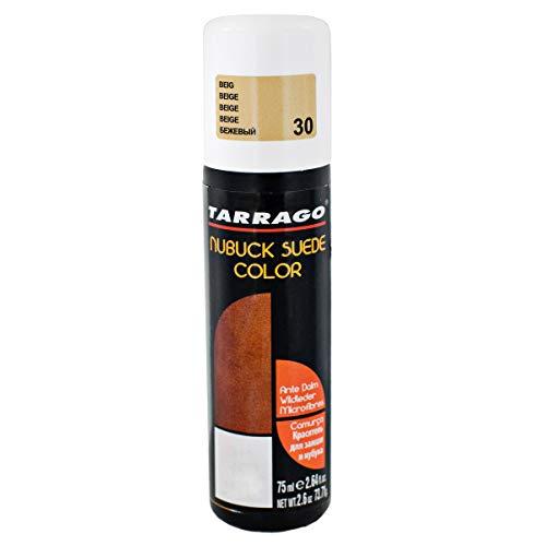Tarrago | Nubuck Suede Color 75ml | Renovador de Color Para Zapatos de Ante y Nobuck | Resalta Los Colores Del Calzado, Nutre y Protege | Con Esponja Aplicadora (Beige 30)