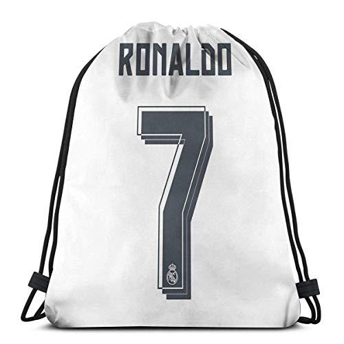 AOOEDM Cr7 Season 2015-16 Sport Sackpack Drawstring Backpack Gym Bag Sack