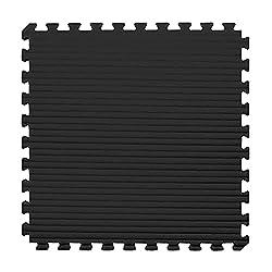 cheap IncStores – Tatami foam tiles (black / gray, 25 tiles) – Extra-thick mats perfect for martial arts,…
