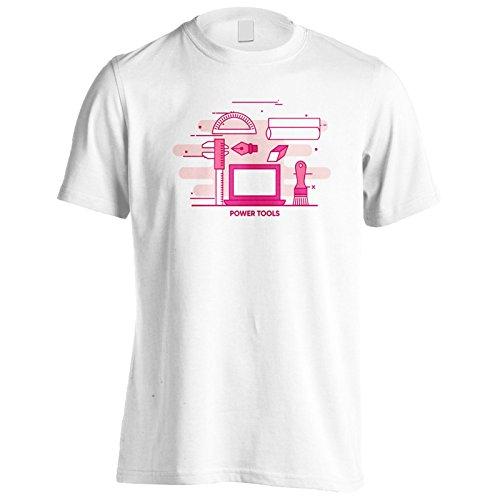 Herramientas Eléctricas De Internet En Línea Camiseta de los Hombres p531m