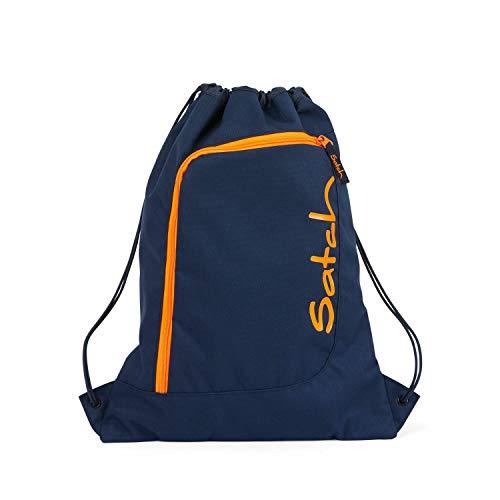 Satch Sportbeutel - 12l - Toxic Orange - Dunkelblau