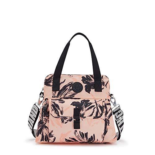 Kipling Pahneiro Printed Handbag Coral Flower