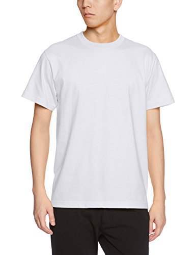 UnitedAthle 500101 Men's High - Quality 5.6 Oz T - shirt - whites