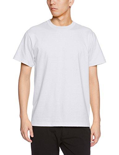 (ユナイテッドアスレ)UnitedAthle 5.6オンス ハイクオリティー Tシャツ 500101 001 ホワイト M