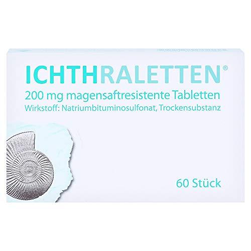 ICHTHRALETTEN magensaftresistente Tabletten 60 St