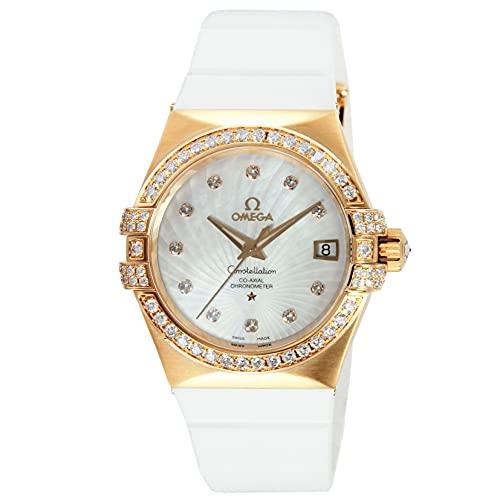 腕時計 OMEGA(オメガ) 123.57.35.20.55.001 ホワイトパール文字盤 レディース [並行輸入品]