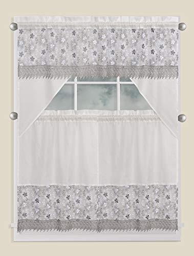 cenefa blanca fabricante Fancy Linen