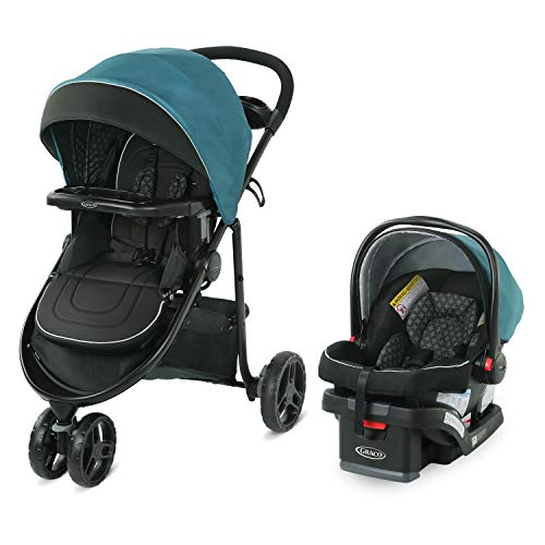 Graco Modes 3 Lite DLX Travel System | Includes Modes 3 Lite DLX Stroller and SnugRide SnugLock 30 Infant Car Seat