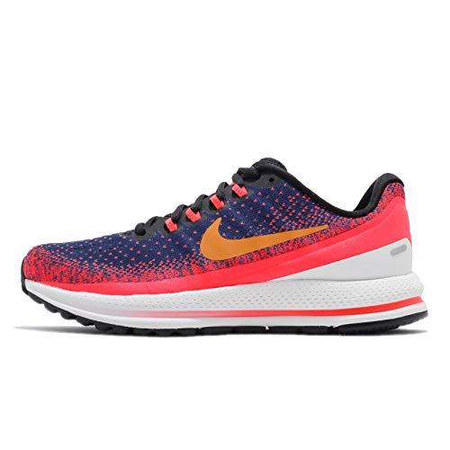 Nike Damen WMNS Air Zoom Vomero 13 Laufschuhe, Mehrfarbig (Blue Void/Orange Peel/Flash Crimson 483), 38 EU