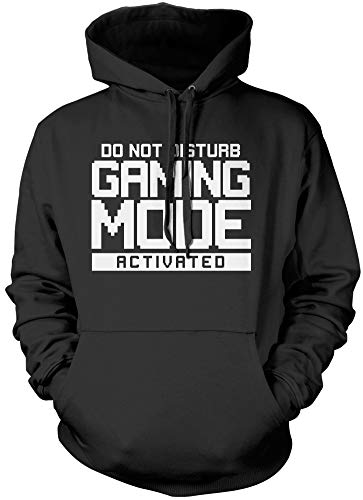 Do Not Disturb Gaming Mode Activated - Unisex Hoodie - Gamer Console cod - S Black
