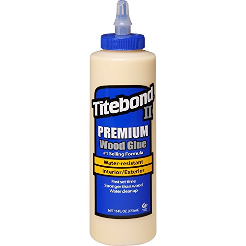 Titebond 5004 II Premium Wood Glue, 16-Ounces
