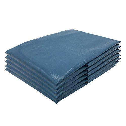 VARIOSAN Sacs-poubelle 11664, 240 L, extra résistants, 5 pièces, 90 µ, type 100, bleus