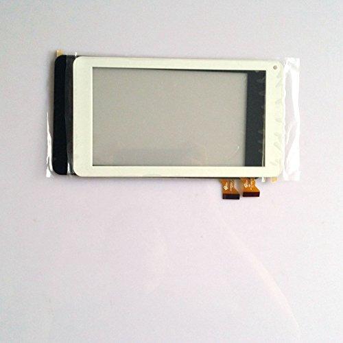 Blanco Color EUTOPING  De Nuevo 7 Pulgadas Pantalla tactil Digital La sustitución de para Vexia Zippers Tab 7i