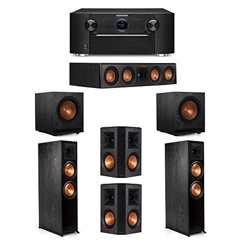 For Sale! Klipsch 5.2 System with 2 RP-8000F Floorstanding Speakers, 1 Klipsch RP-404C Center Speake...