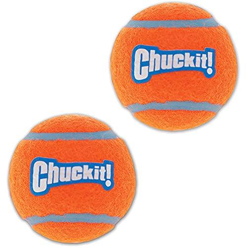 CHUCKIT! Balle de tennis 2-PK S Ø 5cm - Pour chien
