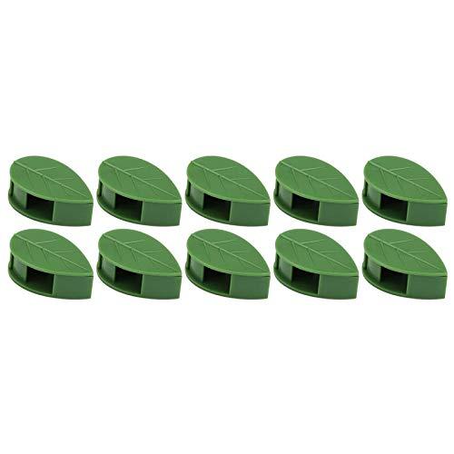 NIMON Clip di Piante per Le Piante da Arrampicata impianto Invisibile Clip a Parete di Arrampicata Clip Foglie Clip di Fissaggio della pianta Ganci autoadesivi Invisibili a Parete Invisibile in Style