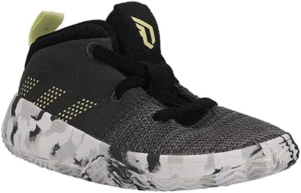 adidas Unisex-Child Dame 5 Basketball Shoe