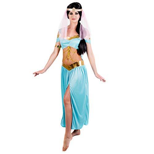 Fun Shack Azul Princesa Árabe Disfraz para Mujeres - L