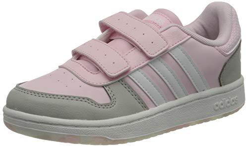 adidas Hoops 2.0 CMF C, Zapatillas de Baloncesto, ROSCLA/FTWBLA/Gridos, 34 EU