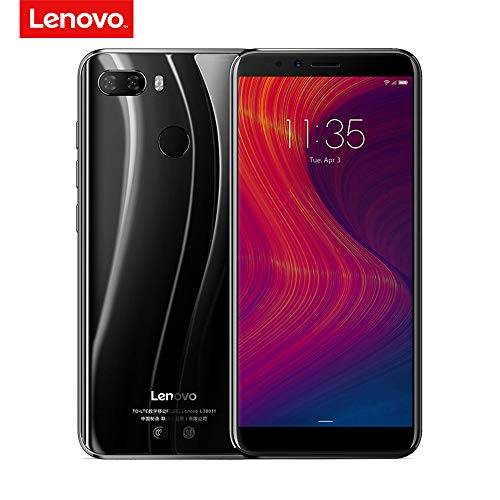 Lenovo K5 Play 4G Mobile Phone Face ID 5.7-inch HD+ 18:9 Display Snapdragon MSM8937 Octa-core 3GB+32GB 13MP+2MP Rear 8MP Front Camera 3000mAh Fingerprint Recognition (Black)