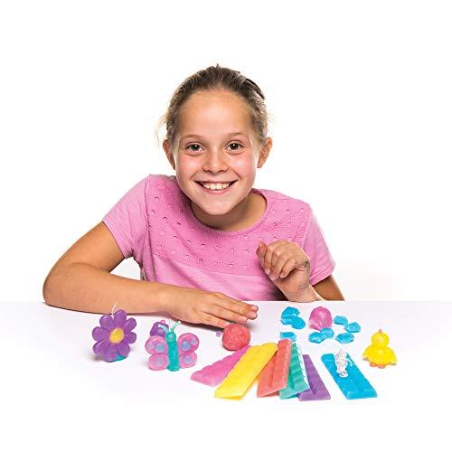 Baker Ross Kaarsen-knutselset in pastelkleuren (240 g kaarsvet per set) – voor kinderen om hun eigen kaarsen te maken