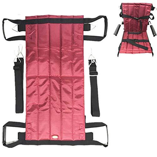 LOVEHOUGE Eslinga de elevación de paciente de cuerpo completo, tabla plegable de elevación de escaleras con asas duraderas, perfecta para transferencias seguras de coches a la cama.