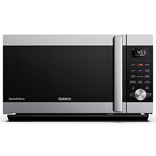 Our #8 Pick is the Galanz SpeedWave Microwave Toaster Oven Combo