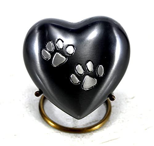 Dekorative Haustier-Urne aus Metall