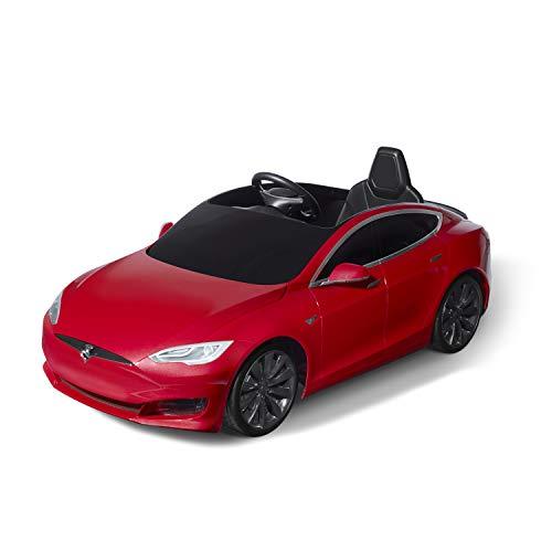 Radio Flyer Tesla Model S for Kids, Red