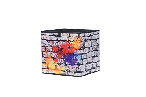 Eternity Möbel Faltbox Aufbewahrungsbox 3er Set BETA Box in 32x32x32 cm Modell Colours