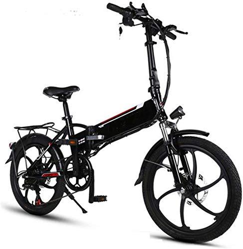 Alta velocidad Marco de aluminio de 20 pulgadas bicicleta eléctrica plegable de...