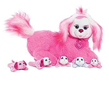 Puppy Surprise 42000 Polly Plush Toy 12  Pink