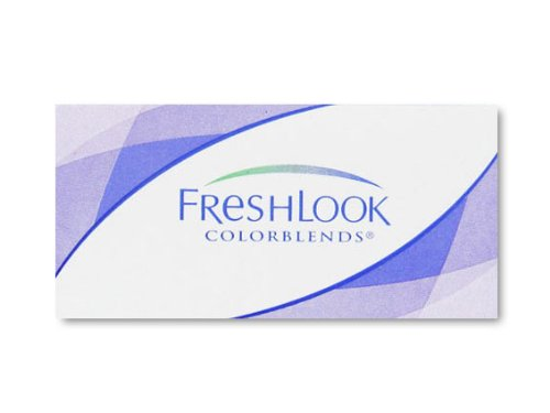 Freshlook Colorblends AzurBlau (Dioptrien: -7.75 / Radius: 8.60 / Durchmesser: 14.50 / Farbe: Mandel-Grün)