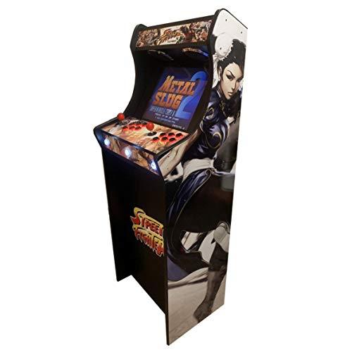 """roboticaEnCasa Máquina Arcade Lowboy """" EDICIÓN Deluxe"""" Videoconsola Retro-..."""