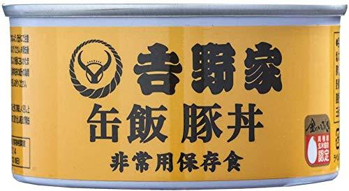 吉野家 [缶飯豚丼6缶セット/吉野家オリジナルギフトダンボール版]非常食 保存食 防災食 缶詰 /常温便